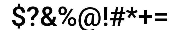 Roboto Mono Medium Font OTHER CHARS