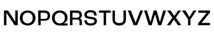 Roc Grotesk Compressed Medium Font UPPERCASE