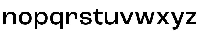 Roc Grotesk Compressed Medium Font LOWERCASE