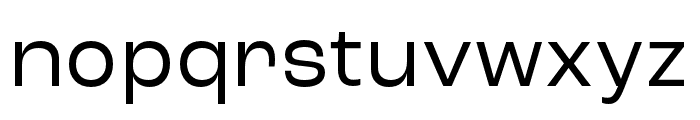 Roc Grotesk Wide Font LOWERCASE