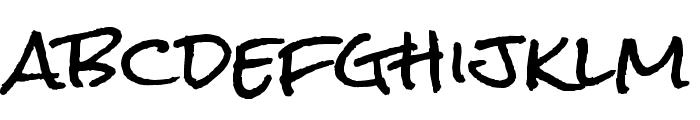 Rock Salt Pro Regular Font LOWERCASE