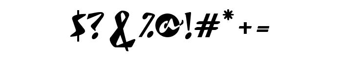 Rocket Regular Font OTHER CHARS