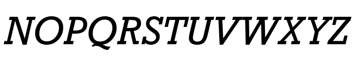 Rockwell Nova Condensed Italic Font UPPERCASE