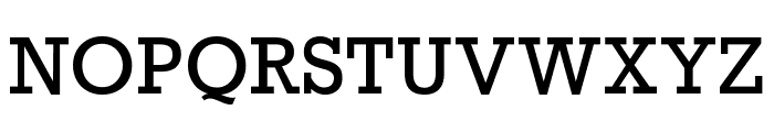 Rockwell Nova Condensed Font UPPERCASE
