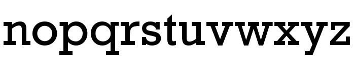Rockwell Nova Condensed Font LOWERCASE