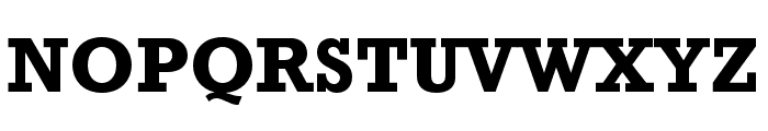 Rockwell Std Bold Condensed Font UPPERCASE