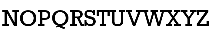 Rockwell Std Condensed Font UPPERCASE