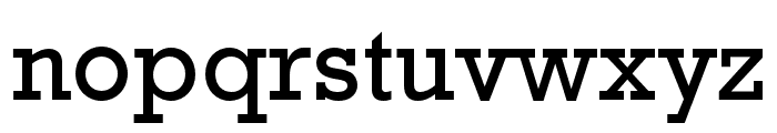Rockwell Std Condensed Font LOWERCASE