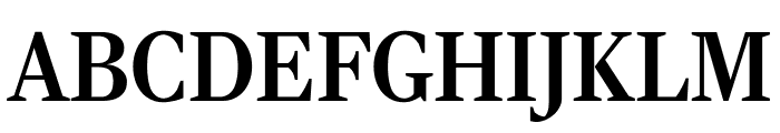 RockyComp Medium Font UPPERCASE