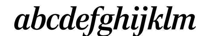 RockyComp MediumItalic Font LOWERCASE