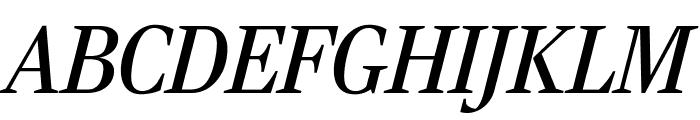 RockyComp RegularItalic Font UPPERCASE