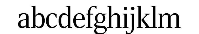 RockyCond Light Font LOWERCASE