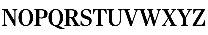 RockyCond Medium Font UPPERCASE