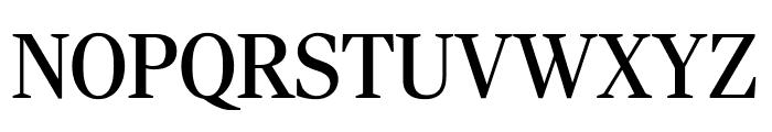 RockyCond Regular Font UPPERCASE