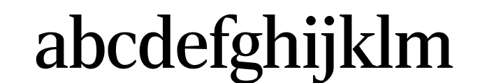 RockyCond Regular Font LOWERCASE