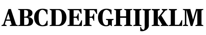 RockyExtraCond Black Font UPPERCASE