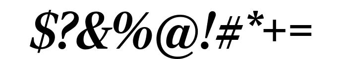 RockyExtraCond BoldItalic Font OTHER CHARS