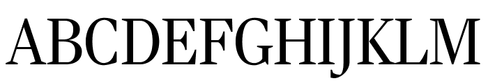 RockyExtraCond Light Font UPPERCASE