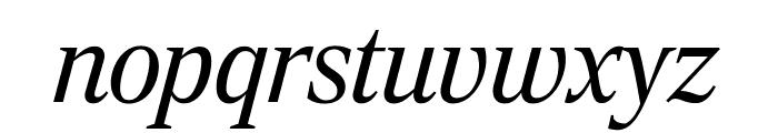 RockyExtraCond LightItalic Font LOWERCASE