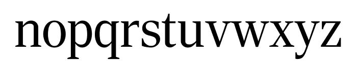 RockyExtraCond Light Font LOWERCASE