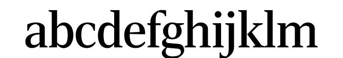 RockyExtraCond Regular Font LOWERCASE