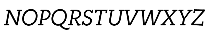 Rogliano Regular Italic Font UPPERCASE