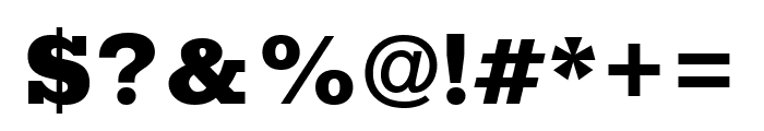Rokkitt Black Font OTHER CHARS