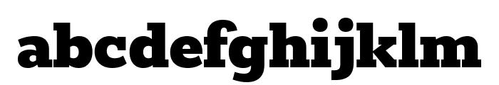Rokkitt Black Font LOWERCASE