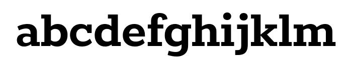 Rokkitt Bold Font LOWERCASE
