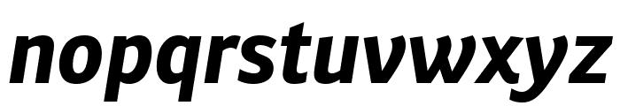 Ronnia Bold Italic Font LOWERCASE