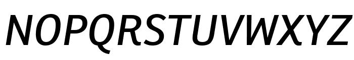 Ronnia Condensed Italic Font UPPERCASE