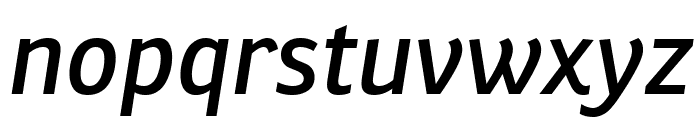 Ronnia Condensed Italic Font LOWERCASE