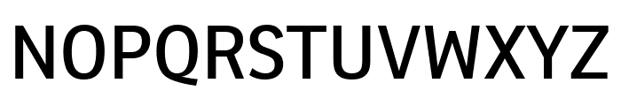 Ronnia Condensed Regular Font UPPERCASE