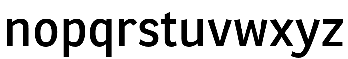 Ronnia Condensed Regular Font LOWERCASE