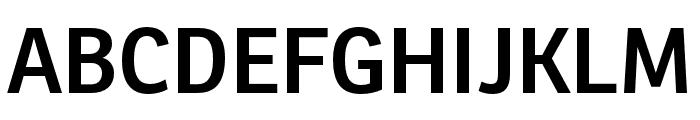 Ronnia Condensed SemiBold Font UPPERCASE