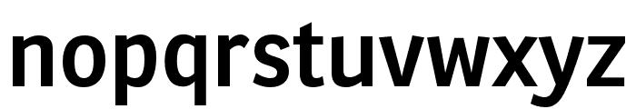 Ronnia Condensed SemiBold Font LOWERCASE