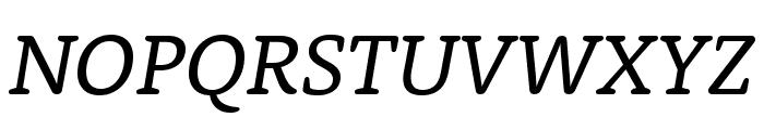 Rooney Regular Italic Font UPPERCASE