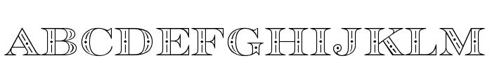 Rosella Engraved Font LOWERCASE