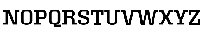 Roster Expanded Regular Font UPPERCASE