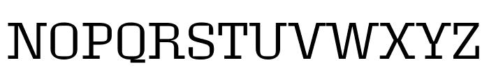 Roster Light Font UPPERCASE
