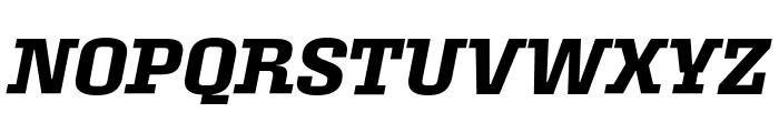 Roster Narrow Semibold Italic Font UPPERCASE