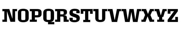 Roster Narrow Semibold Font UPPERCASE