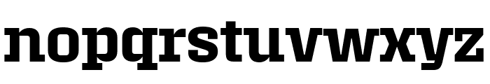 Roster Narrow Semibold Font LOWERCASE