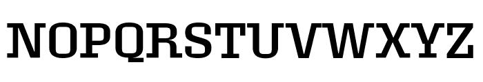 Roster Regular Font UPPERCASE
