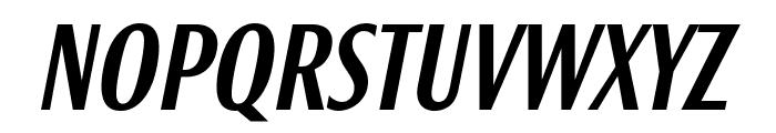 Roxy MediumItalic Font UPPERCASE