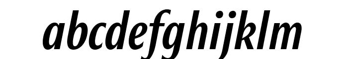 Roxy MediumItalic Font LOWERCASE