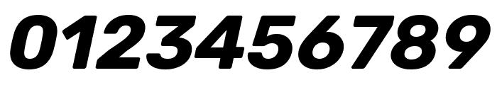 Rubik Bold Italic Font OTHER CHARS