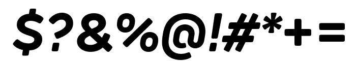 Rubrik Edge New Bold Italic Font OTHER CHARS