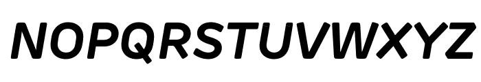 Rubrik Edge New Bold Italic Font UPPERCASE
