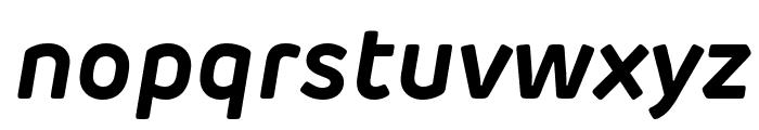 Rubrik Edge New Bold Italic Font LOWERCASE